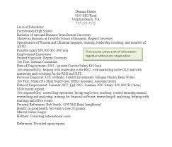 Good Resume Simple Resume Writing Student Services At Regent University