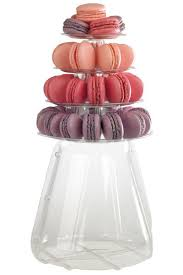 French Macaron Display Stand Mesmerizing 32 Tier Macaron Display Stand For French Macarons With Carrying Case