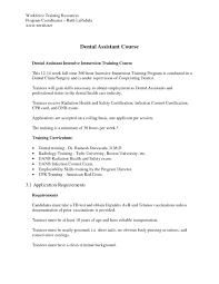 Dental Assistant Cover Letter Samples 8 Invest Wight