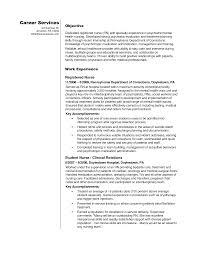 Nursing Objectives For Resume New Graduate Registered Nurse Home Lpn