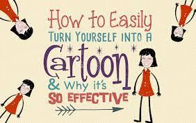 turn yourself into a cartoon