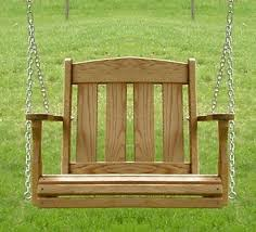 wooden outdoor swing seat small porch how to find the best in low porch bed