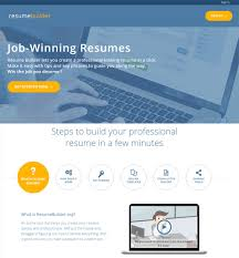 Best Resume Builder Site Best Resume Building Sites 11 Best Free