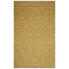 momeni veranda yellow indoor outdoor handcrafted area rug common 5 x 8