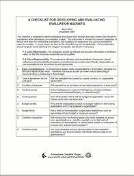 Evaluation Budget Matrix   Better Evaluation