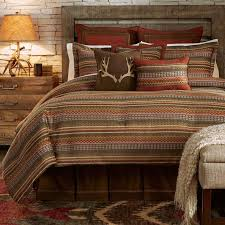 rustic king size comforter sets brilliant western bedding retrocowboy regarding 8