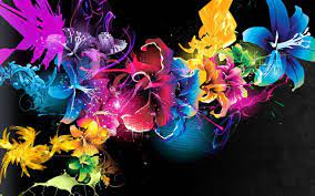 4D Neon Flowers Wallpapers APK 4.0.1 ...