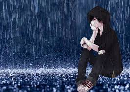 sad boy in love alone in rain hd alone boy wallpaper hd