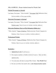 006 Research Paper Mla Works Cited Page Museumlegs