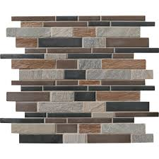 Stone Wall Tiles Kitchen Ms International Cobrello Interlocking 12 In X 12 In X 8 Mm