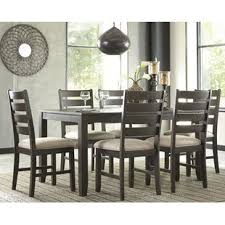 gray dining room table. Chapdelaine 7 Piece Dining Set Gray Room Table B