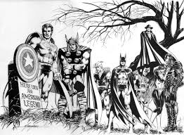 Avengers Justice League By Mike Grell