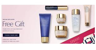 estee lauder is offering a free 7 piece set worth up to 140 get this deal with a purchase of 45 or more no needed