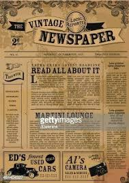 Extra Extra Newspaper Template Vintage Newspaper Template Google Search Templates For