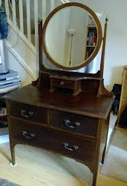 vintage dressing tables with mirror old table round square antique hinges