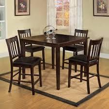 Furniture of America Espresso West Creston Creek 5piece Counter Height Dining  Set