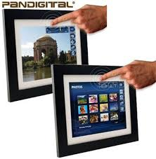 these 10 4 inch photo frames rock a touch screen interface wi fi