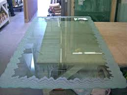 does cut glass glass for table top custom glass table tops sans art pictures on does cut glass