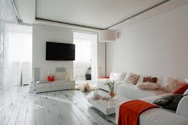 0 open space living room white walls white
