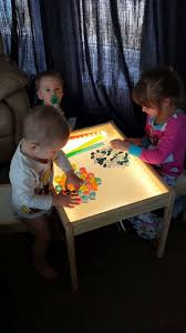 ikea childrens lighting. Hobby Mommy Creations: DIY Light Table - IKEA Hack Ikea Childrens Lighting
