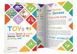 Toys Brochure Template