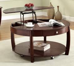 Charming ... Coffee Table, Lift Top Coffee Table Ideas And Design For Living Room  Decor Round Lift ... Nice Look