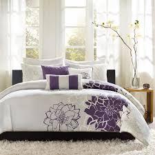image of purple modern duvet covers