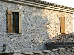wood screens and exterior wood shutters
