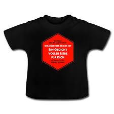 Kritzeleien Lustige Sprüche Gedicht Voller Liebe Baby T Shirt