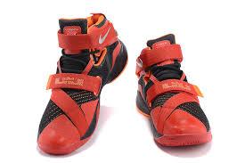 lebron mens shoes. factory outlet nike casual shoes lebron soldier 9 black red orange limited offer mens 83emd- 59f c lebron
