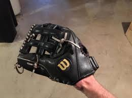 wilson softball elite series oversized pocket mitt