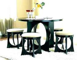 medium size of small round glass dining table 2 chairs black and furniture astounding