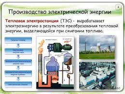 Презентация на тему Производство передача и использование  5 Производство электрической