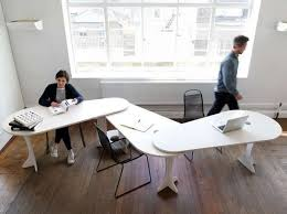 Concept Interior Design Of Office Furniture Interconnected Workstations Designoffice Inside Modern Ideas