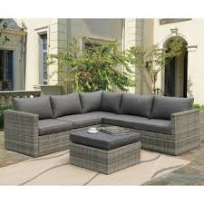 modern outdoor sectional. Utopia Sectional With Cushions Modern Outdoor A