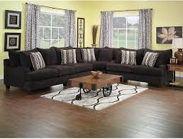 The Brick Living Room Furniture Putty Chenille 3 Piece Sectional Chocolate The Ojays The