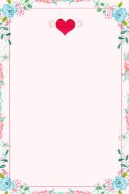 Flower Edge Design Plain Color Floral Edge Poster Background Material Plain