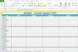 Workout Spreadsheet Excel Diabetes Exercise Spreadsheet And Excel ...