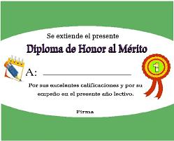formato mencion de honor plantillas y fondos para diplomas laclasedeptdemontse