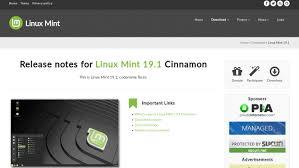 Mint Web Design Linux Mint Project Shares Software And Website Developments