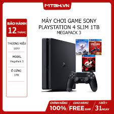 Máy Chơi Game Sony Playstation 4 Slim 1TB MegaPack 3 – Máy Tính Biên Hòa