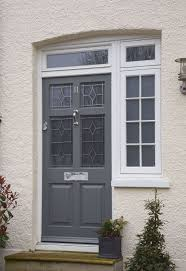 Door Top Light Frenchay Style Entrance Door With Toplight And Flag Window