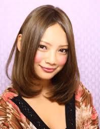 小顔ミディアム内巻き髪型ke 80 ヘアカタログ髪型ヘアスタイル