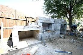 concrete block fireplace fireplace before concrete block outdoor fireplace