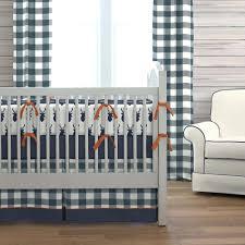 decoration navy blue and white nursery bedding striped crib navy