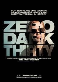 Zero Dark Thirty UK Poster