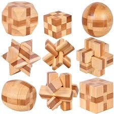 Wooden Games For Adults MINI Ancient kids educational learning wooden toys 100D IQ 46