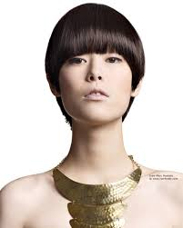Short Asian Hair Style short boyish cut with a tapered neck for asian hair 6420 by wearticles.com