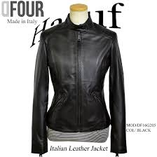 sliders jacket lady s leather jacket black black tight on the small side leather coat spring and summer made in leatherette jacket genuine leather italy