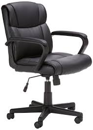 office chair with wheels. amazonbasics mid-back office chair hl-002566 with wheels a